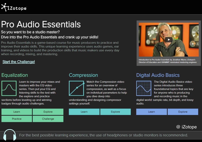 iZotope Audio Essentials